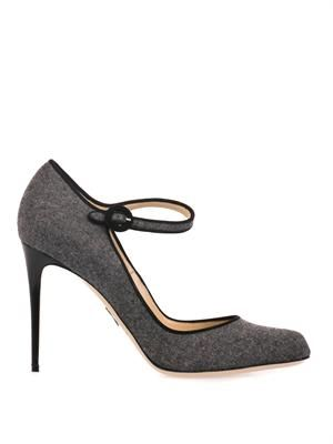 Taplow felted-wool pumps