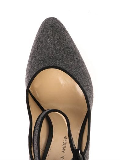 Paul Andrew Taplow felted-wool pumps