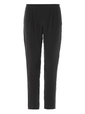 Soliman silk-crepe pyjama trousers