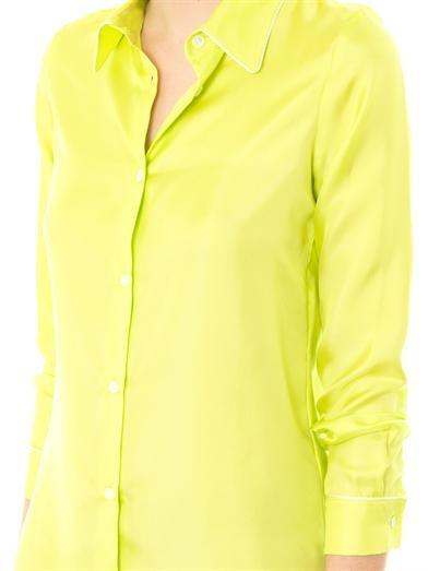 Raphaëlla Riboud Roxanne silk-twill pyjama blouse