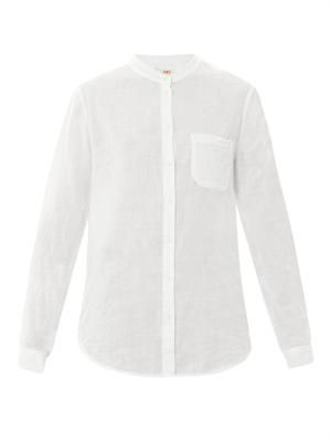 Grandad cotton shirt