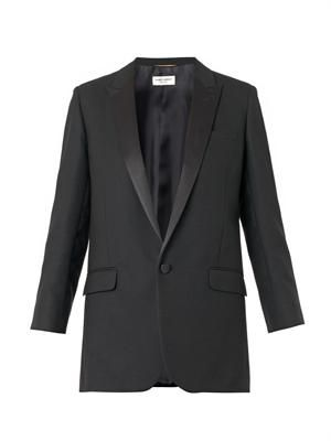 Iconic wool smoking jacket