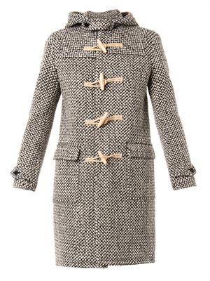 Tweed duffle coat
