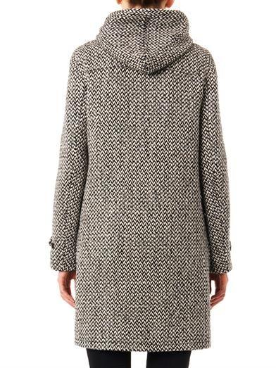 Saint Laurent Tweed duffle coat