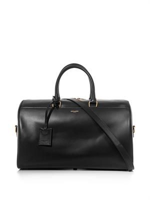 Classic Duffle 12 leather bag