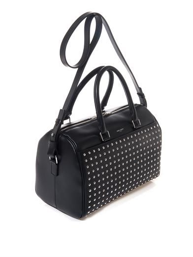Saint Laurent 6 Hour studded leather duffle bag