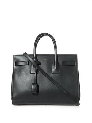 Sac De Jour leather tote