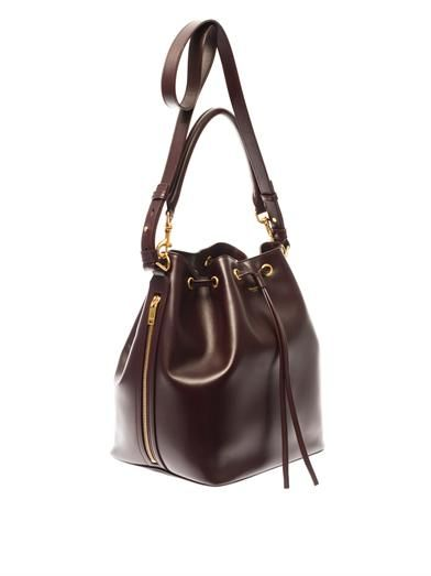 Saint Laurent Leather bucket bag