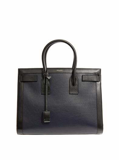 Saint Laurent Sac De Jour medium leather tote