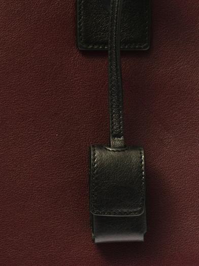 Saint Laurent Sac De Jour small leather tote