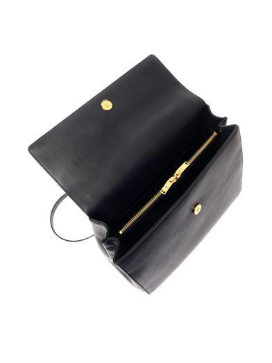 Saint Laurent Moujik leather tote