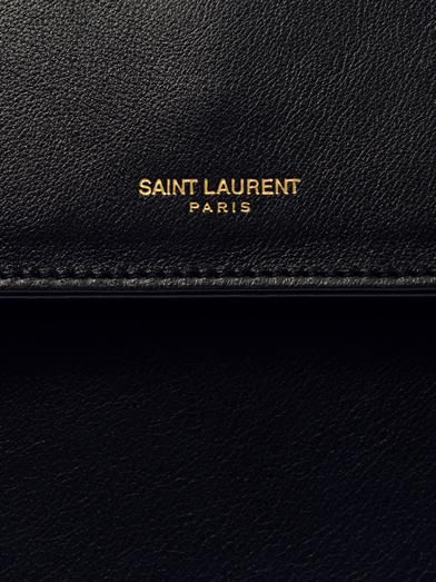 Saint Laurent Moujik leather tote