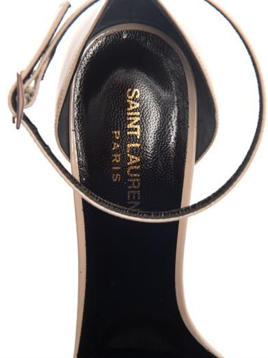Saint Laurent Jane patent leather sandals