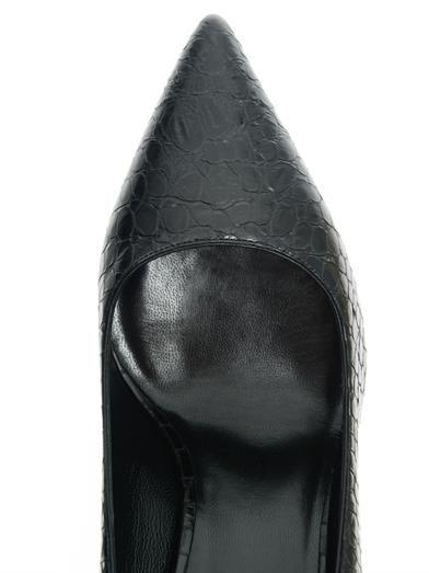 Saint Laurent Paris textured leather pumps