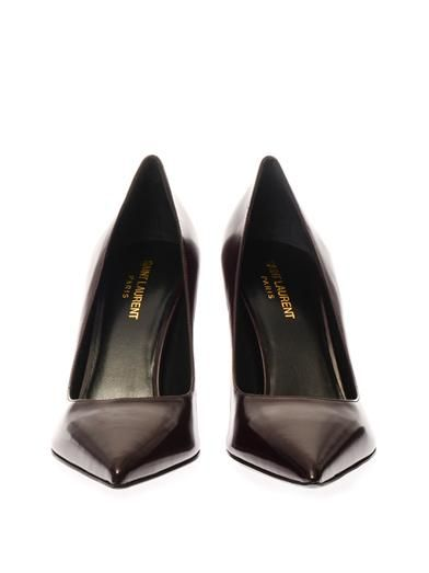 Saint Laurent Paris leather pumps