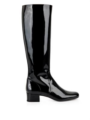 Babies 40 patent leather boots
