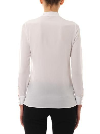 Saint Laurent Lavaliere neck-tie blouse