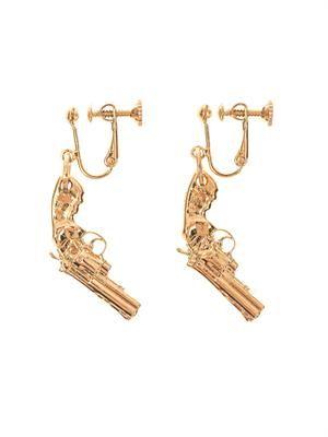 Gun drop earrings
