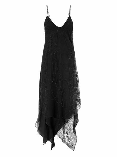 Saint Laurent Beaded tulle gown