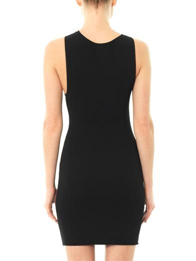 Saint Laurent Stretch-knit dress