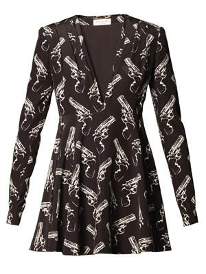 Gun Pop jacquard dress
