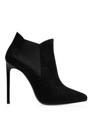 Paris high-heeled ankle boots