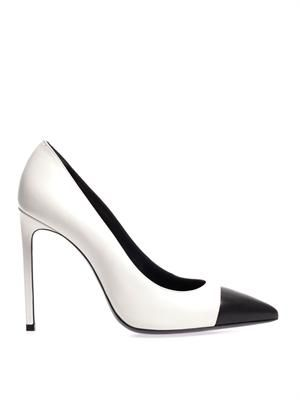 Paris bi-colour pumps