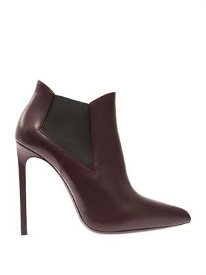 Paris chelsea detail ankle boots
