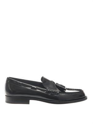 Master patent leather loafers