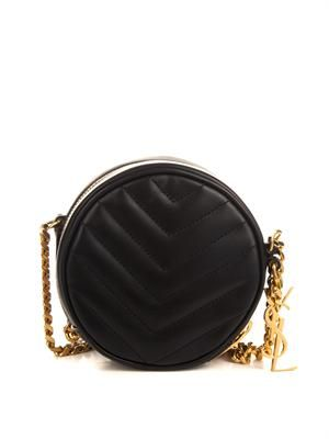 Bubble quilted-leather shoulder bag