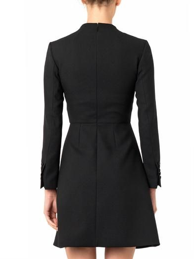 Saint Laurent Robe wool-crepe dress