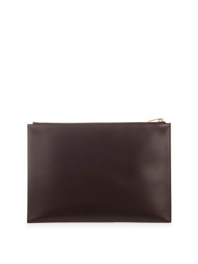 Saint Laurent Leather clutch