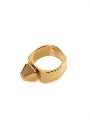 Clou pyramid stud ring