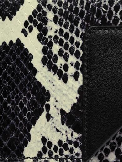 Saint Laurent Betty python and leather shoulder bag