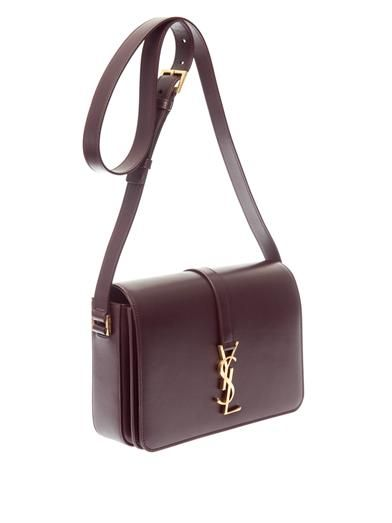 Saint Laurent Sac Université leather shoulder bag