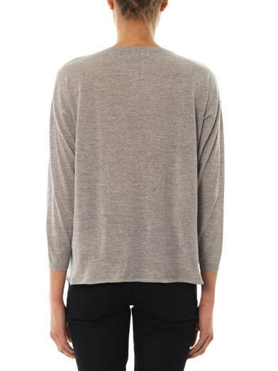 Saint Laurent Oversized wool sweater