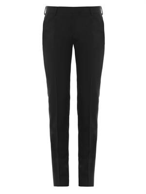 Grain de poudre wool tailored trousers