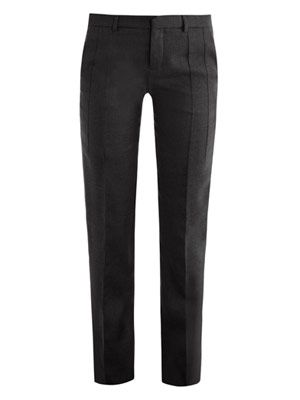 Boyish tailored trousers