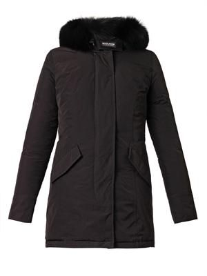 Luxury Arctic fur-hood down parka