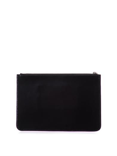 Yazbukey Beauty leather clutch