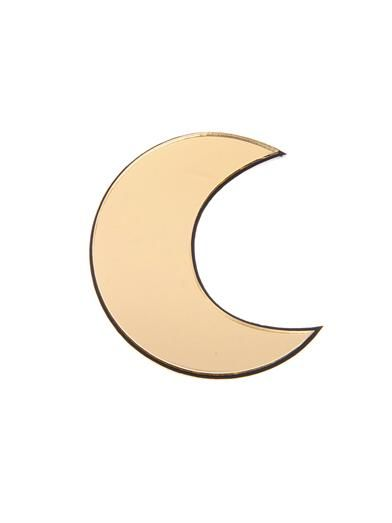 Yazbukey Moon brooch