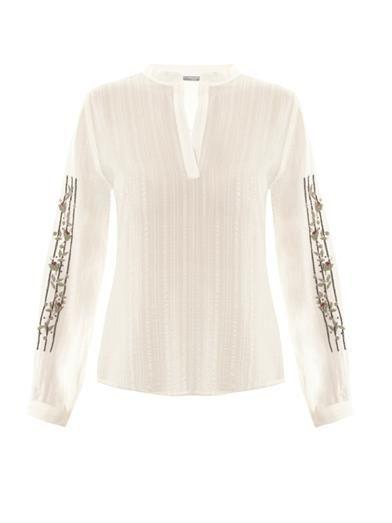 Zeus + Dione Hera silk blouse