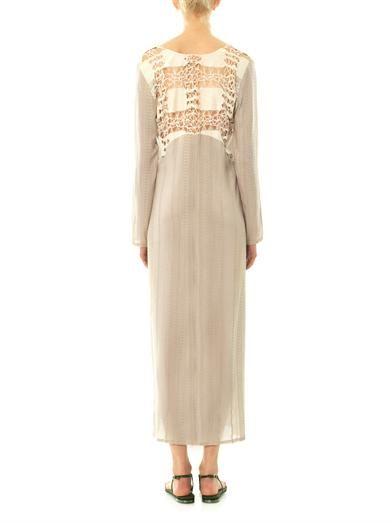 Zeus + Dione Athena silk dress