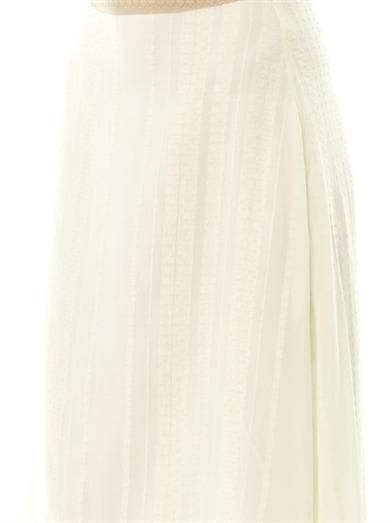 Zeus + Dione Aether silk skirt