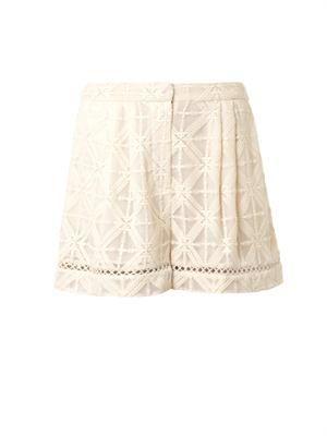 Haze cross-stitch shorts