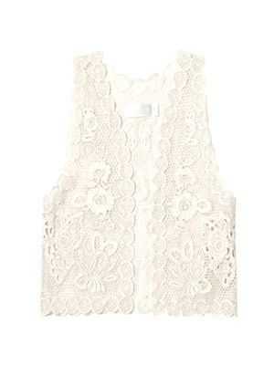 Collector lace vest
