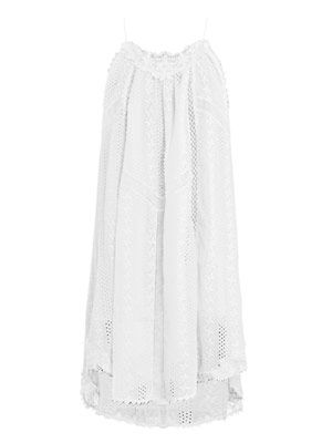 Devoted lace swing dress