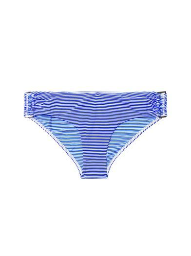 Zimmermann Wide Link striped bikini briefs