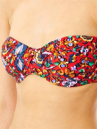 Zimmermann Drifter floral-print bikini