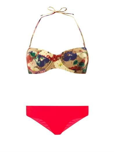 Zimmermann Haze underwired bikini